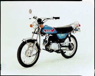 スズキ ハスラーTS50 1973 年2月
