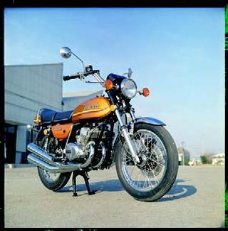 カワサキ 350SS 1973 年2月