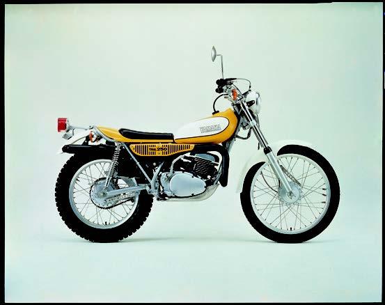 Images : ヤマハ TY250J 1973 年12月
