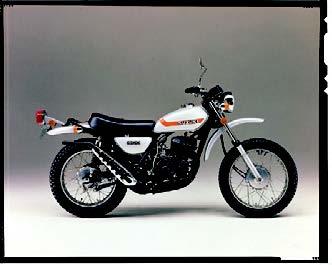 Images : スズキ ハスラーTS400 1973 年 8月