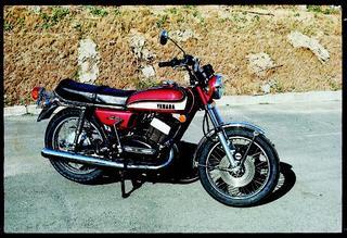ヤマハ RD350 1973 年1月