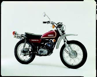 Images : ヤマハ DT125 1973 年12月