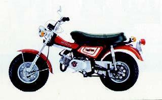 スズキ バンバンRV90 1973 年11月