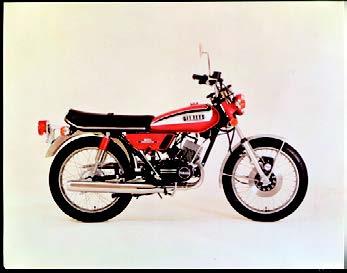 Images : ヤマハ RD125 1973 年 4月