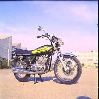 カワサキ 500SS マッハⅢ 1973 年1月