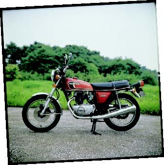 Images : ホンダ CB250T 1973 年 8月