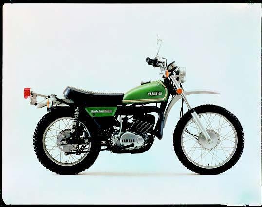 Images : ヤマハ DT250 1973 年12月