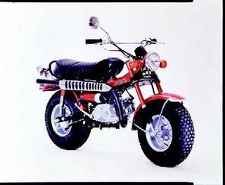 スズキ バンバンRV90 1972 年7月