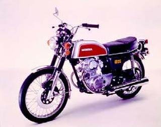 ホンダ ベンリイCB125/JX 1972 年 8月