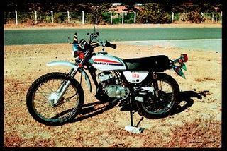スズキ ハスラーTS125 1974 年1月