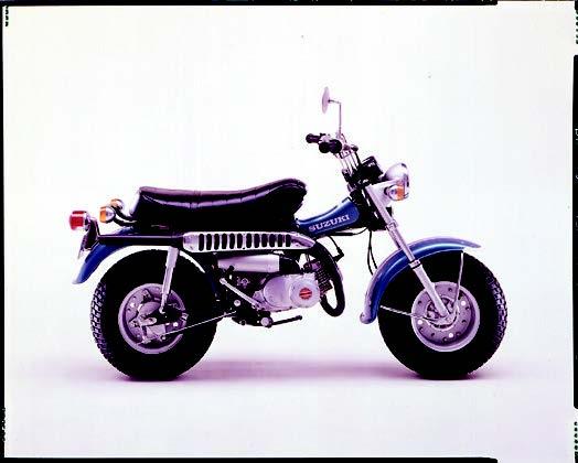 Images : スズキ バンバンRV90 1974 年11月