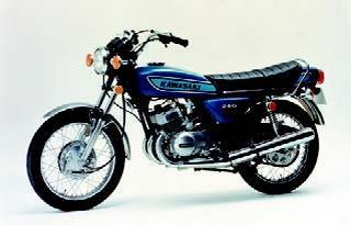 カワサキ 250SS 1974 年11月