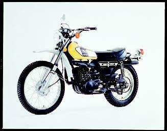 Images : ヤマハ DT250Ⅱ 1975 年 3月