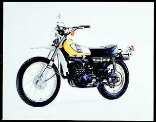 ヤマハ DT250Ⅱ 1975 年 3月
