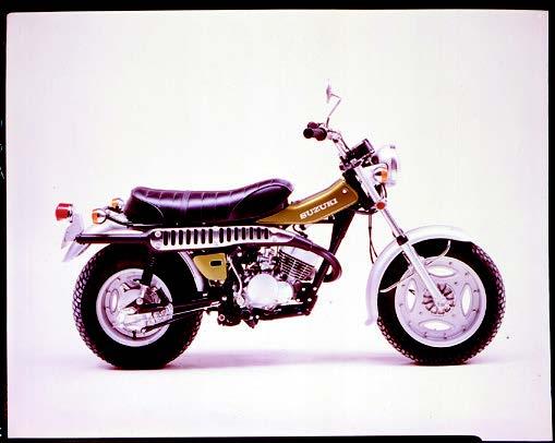 Images : スズキ バンバンRV125 1974 年1月
