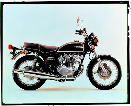 Images : ホンダ ドリームCB500T 1974 年12月