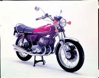 カワサキ 500SS マッハⅢ 1974 年1月