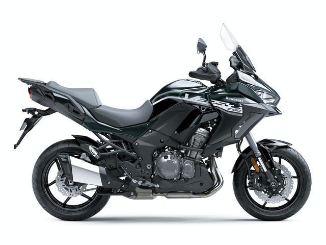 画像3: 10月15日(火)発売開始! カワサキ「VERSYS 1000 SE」の2020年モデルは、モノトーンカラーだ!