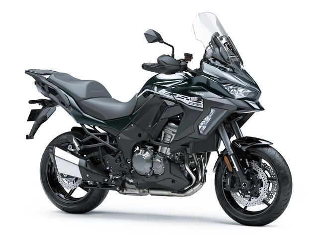 画像1: 10月15日(火)発売開始! カワサキ「VERSYS 1000 SE」の2020年モデルは、モノトーンカラーだ!
