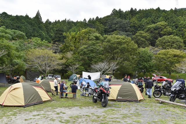 画像: キャンプ場へ移動して、いよいよメインイベント!