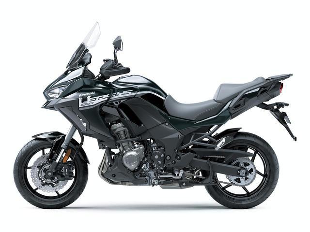 画像2: 10月15日(火)発売開始! カワサキ「VERSYS 1000 SE」の2020年モデルは、モノトーンカラーだ!
