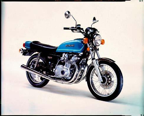 Images : スズキ GS750 1976 年11月