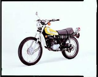 ヤマハ DT125Ⅱ 1976 年 6月