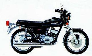 スズキ GT250 1976 年12月