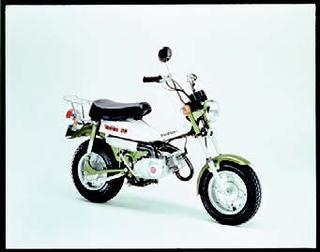 スズキ バンバンRV50A 1975 年11月