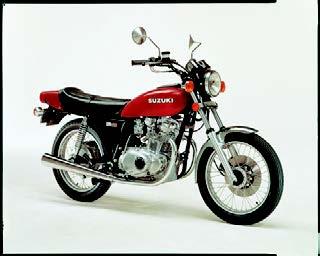 Images : スズキ GS400 1976 年12月