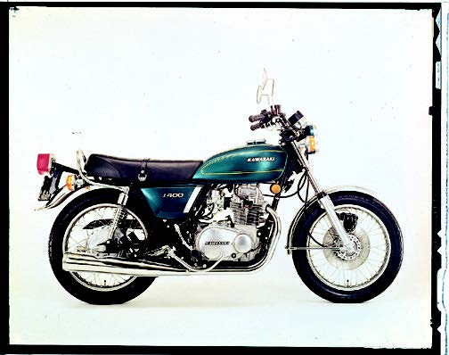 Images : カワサキ Z400 1976 年 4月