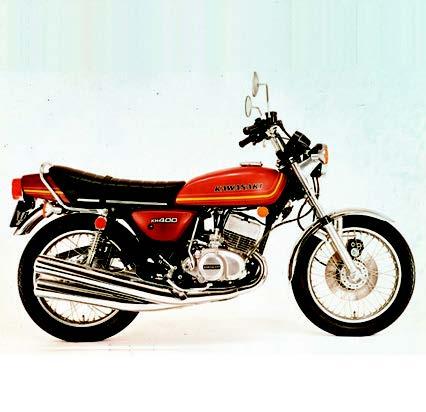 Images : カワサキ KH400 1976 年1月