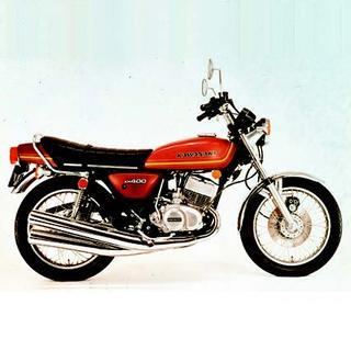 カワサキ KH400 1976 年1月