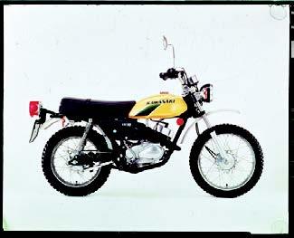 Images : カワサキ KM90 1975 年11月