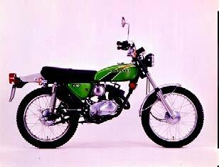 Images : カワサキ KE90 1976 年 3月