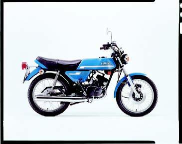 Images : ヤマハ RD125Ⅱ 1976 年 4月