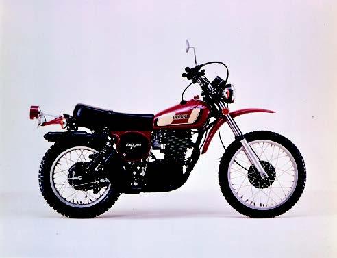 Images : ヤマハ XT500 1976 年2月
