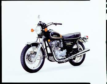 Images : ヤマハ TX650Ⅱ 1975 年10月