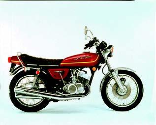 Images : カワサキ KH500 1976 年 4月