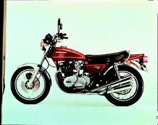カワサキ Z750フォア[A4] 1976 年 4月