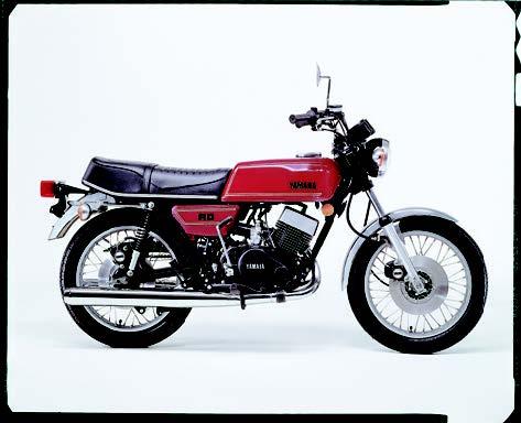 Images : ヤマハ RD400 1976 年 4月
