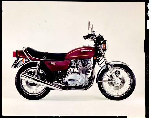 Images : ヤマハ Z750T 1976 年 3月