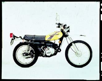 Images : カワサキ KE125 1975 年12月