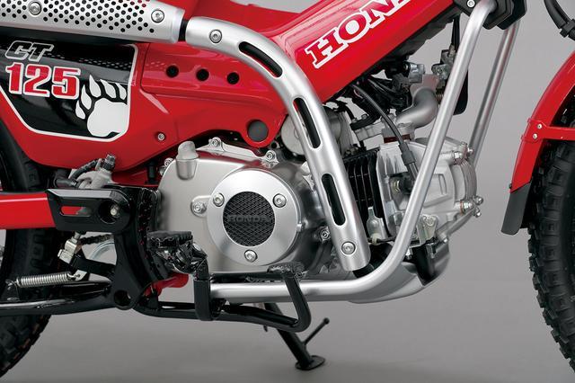 画像1: 質実剛健なスタイリングにC125譲りの新世代空冷エンジン!