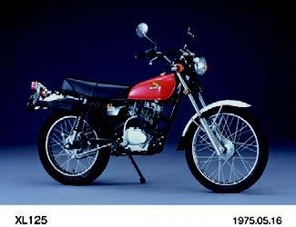 Images : ホンダ XL125 1975 年 5月