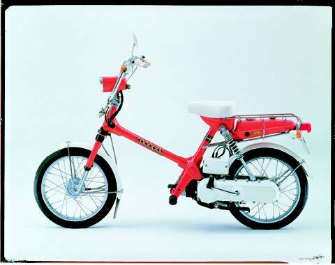 Images : ホンダ ロードパルNC50 1976 年2月