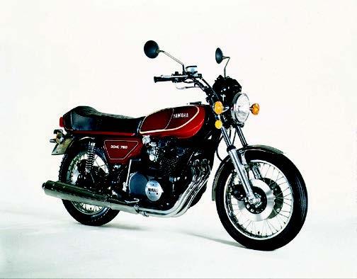 Images : ヤマハ GX750 1976 年 4月