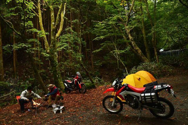 画像: ライダーのための【秋キャンプ】寒さ対策(アウトライダー・菅生) - webオートバイ