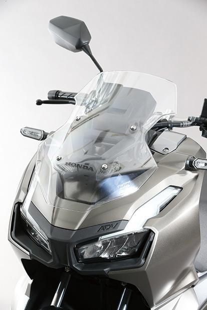 画像2: 国内発売の期待も高まるホンダ「ADV150」の足つき性とサイズ感をいち早くチェック!#東京モーターショー2019