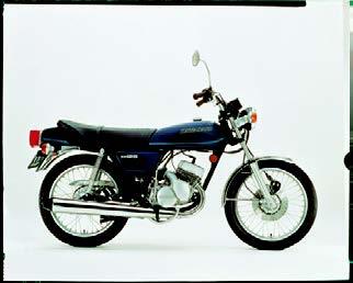 Images : カワサキ KH125 1977年 3月